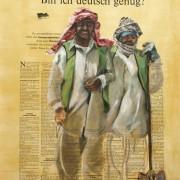Bin ich deutsch genug | Zwei Bauarbeiter